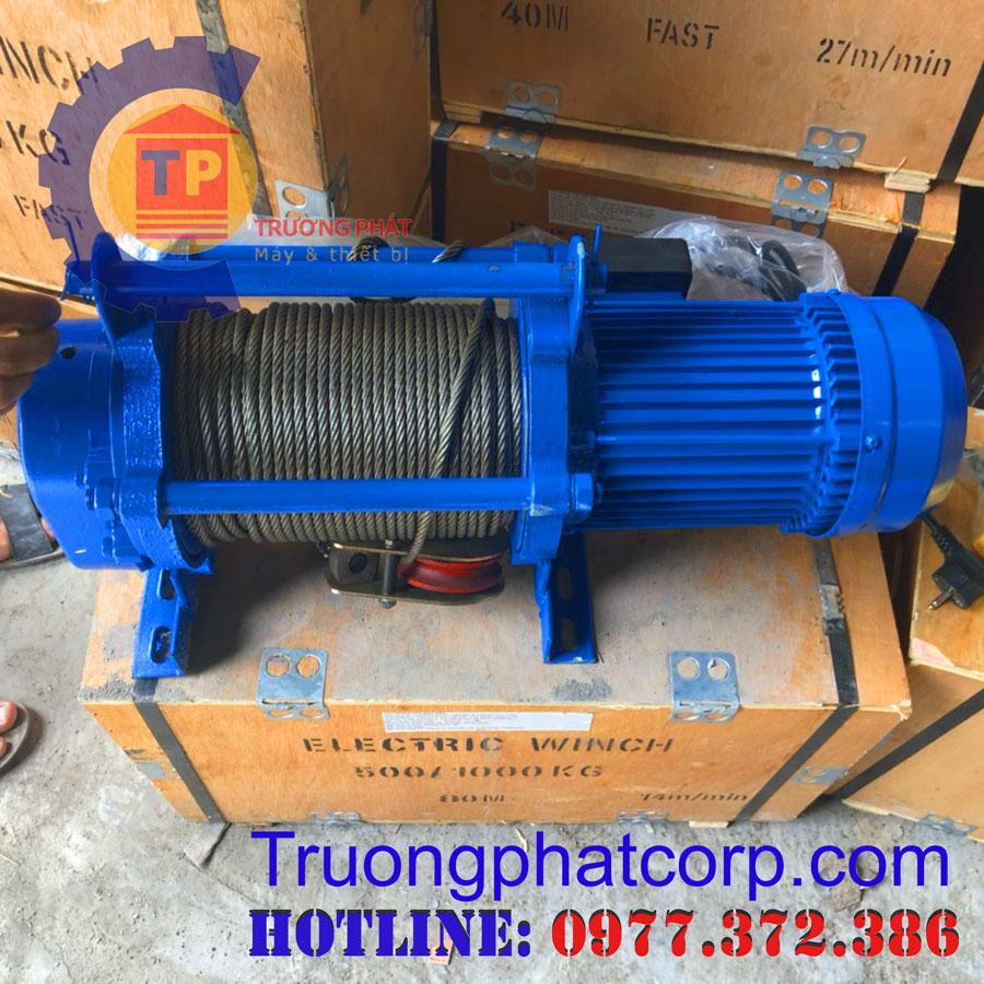 Tời Điện Đa Năng KCD 750/1500kg
