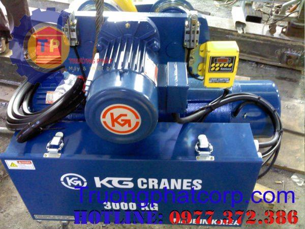So sánh pa lăng cáp điện KG và Kento