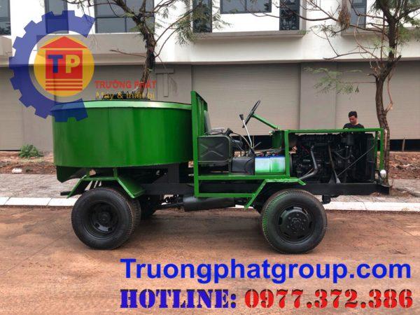 Review máy trộn bê tông tự hành sản xuất trực tiếp tại Việt Nam